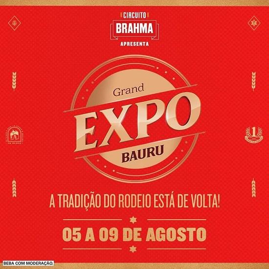Expo Bauru 2020 - Shows e Ingressos